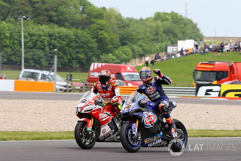 Le vainqueur, Michael van der Mark, Pata Yamaha