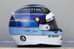 Speciale helm voor Monaco GP van Valtteri Bottas, Mercedes-AMG F1
