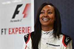 F1 Experiences 2-Seater passenger Nichole Galicia, Actress