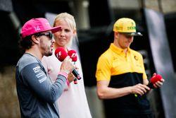 Fernando Alonso, McLaren, Nico Hulkenberg, Renault Sport F1 Team