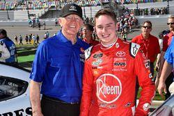 Christopher Bell, Joe Gibbs Racing, Rheem Toyota Camry and guests
