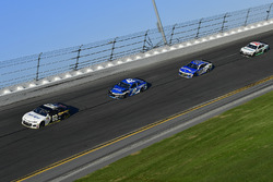 Brendan Gaughan, Beard Motorsports Chevrolet Camaro, Kyle Larson, Chip Ganassi Racing Chevrolet Cama