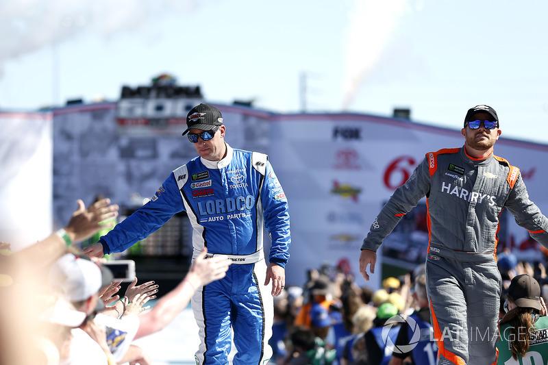 D.J. Kennington, Gaunt Brothers Racing Ford Fusion, Justin Marks, Rick Ware Racing Chevrolet Camaro
