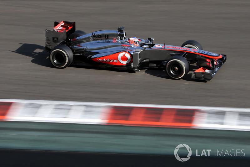 2013: McLaren-Mercedes MP4-28