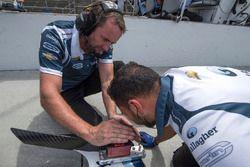 L'équipe de Max Chilton, Carlin Chevrolet