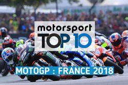 Die Top 10 des Grand Prix von Frankreich