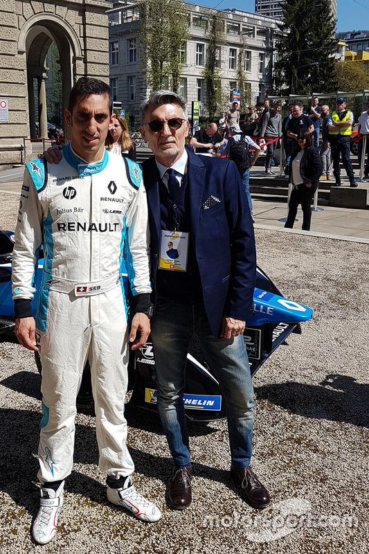 Sebastien Buemi avec Lorenzo Senna, Motorsport.com