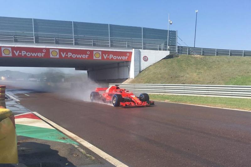 O russo só guiou a Ferrari em um teste da Pirelli em Fiorano, em abril