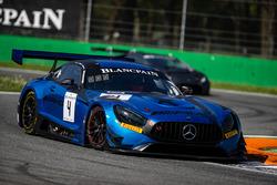 #4 Black Falcon Mercedes-AMG GT3: Maro Engel, Yelmer Buurmann, Luca Stolz