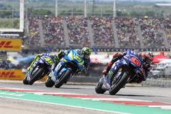Maverick Viñales, Yamaha Factory Racing, Andrea Iannone, Team Suzuki MotoGP, Valentino Rossi, Yamaha Factory Racing