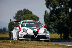 Kevin Ceccon,Team Mulsanne Alfa Romeo Giulietta TCR