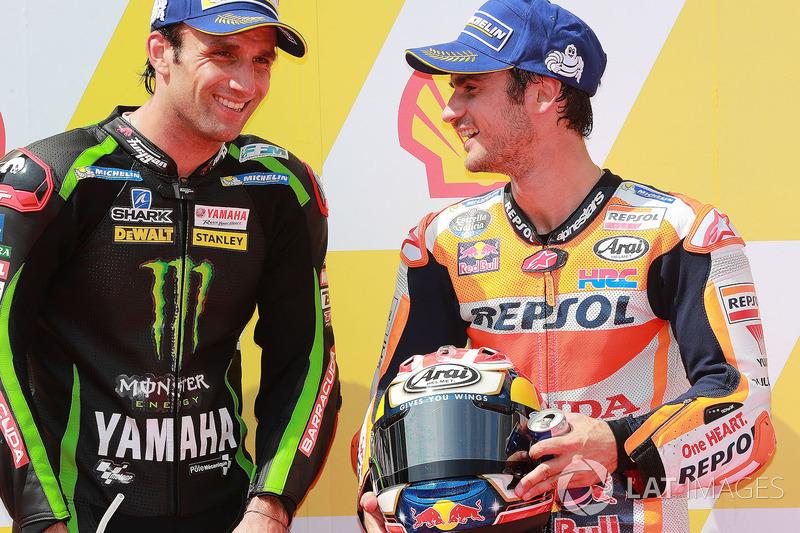 Жоан Зарко, Monster Yamaha Tech 3, и Дани Педроса, Repsol Honda Team