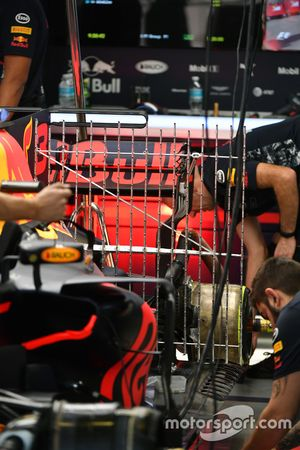 Red Bull Racing RB13: Sensoren