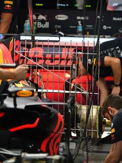 Capteurs aérodynamiques de la Red Bull Racing RB13