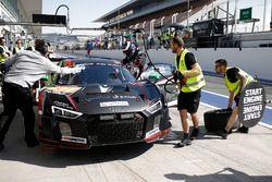 #777 MS7 by WRT Audi R8 LMS: Mohammed Bin Saud Al Saud, Michael Vergers, Dries Vanthoor, Christopher