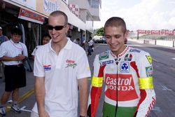 Colin Edwards y Valentino Rossi, Honda Racing