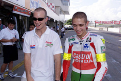 Colin Edwards and Valentino Rossi, Honda Racing