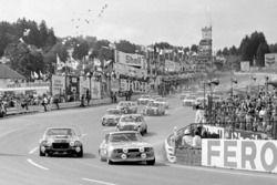 Dieter Glemser, Alex Soler-Roig, Ford Capri RS 2600 leads