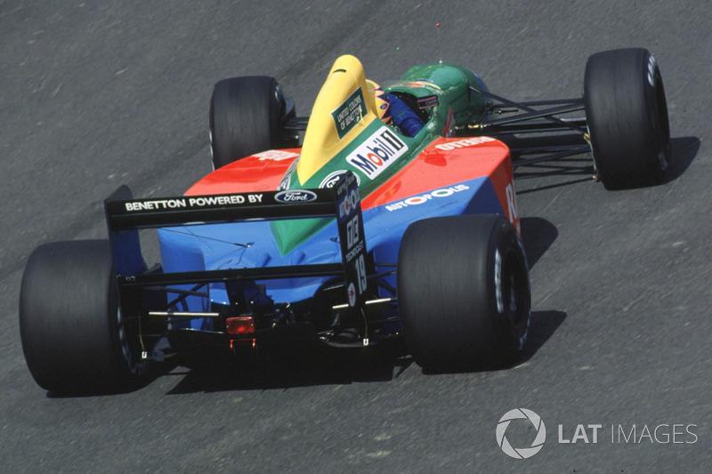Roberto Moreno, Benetton B190