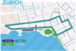 Zurich ePrix pist düzeni