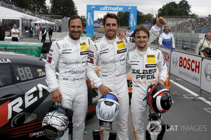 І хоча поули на Норісринзі вигравали гонщики Mercedes, проте перемоги вони не здобували