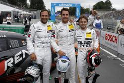 Top 3 na de kwalificatie: Pole position Daniel Juncadella, Mercedes-AMG Team HWA, Gary Paffett, Mercedes-AMG Team HWA, Lucas Auer, Mercedes-AMG Team HWA