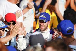Sam Bird, DS Virgin Racing, finishes second