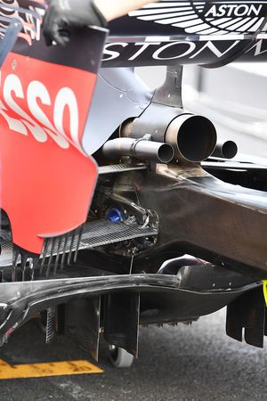 Red Bull Racing RB14 exhaust