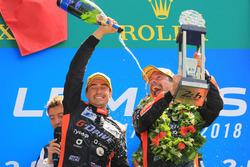 Podio LMP2: il vincitore Roman Rusinov, G-Drive Racing