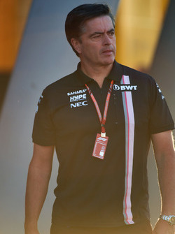 Andy Stevenson, Force India F1 Team Manager