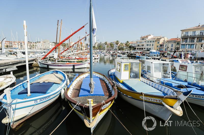 Des bateaux à Sanary sur Mer