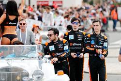 Гонщики G-Drive Racing Джеймс Аллен, Хосе Гутьеррес и Энцо Джибберт
