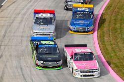 Kaz Grala, GMS Racing Chevrolet and Austin Cindric, Brad Keselowski Racing Ford
