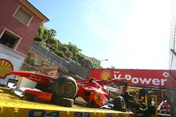 Kazalı araç Felipe Massa, Ferrari