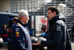 Helmut Markko, Red Bull Racing, Toto Wolff, Mercedes AMG F1