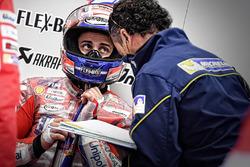 Andrea Dovizioso, Ducati Team, Ingeniero de Michelin
