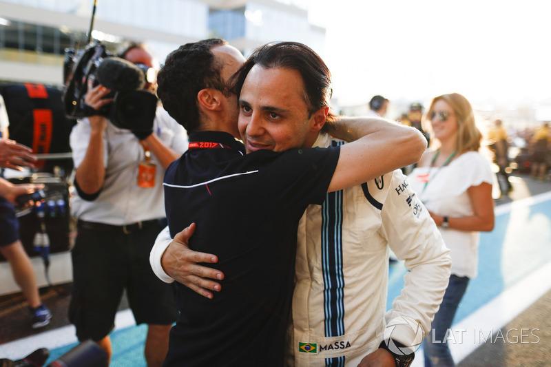 Nicolas Jean Todt, Presidente de FIA. Felipe Massa, Williams