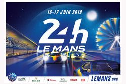 2018 Le Mans 24 Hours poster