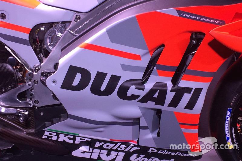 Carenado de Ducati Desmosedici GP18