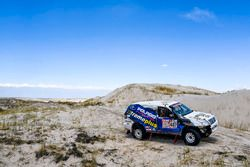 #407 Toyota Land Cruiser: Marco Piana, David Giovannetti