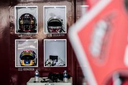 #65 Viper Niza Racing Ligier JS P3: Douglas Khoo, Dominic Ang, Nigel Moore helmets