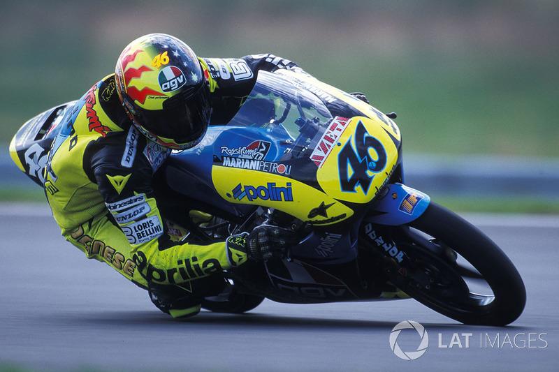 1996 - Debut en el Mundial en la categoría de 125cc