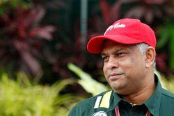 Tony Fernandes, teambaas, Caterham F1