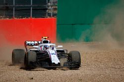 Sergey Sirotkin, Williams FW41, gira