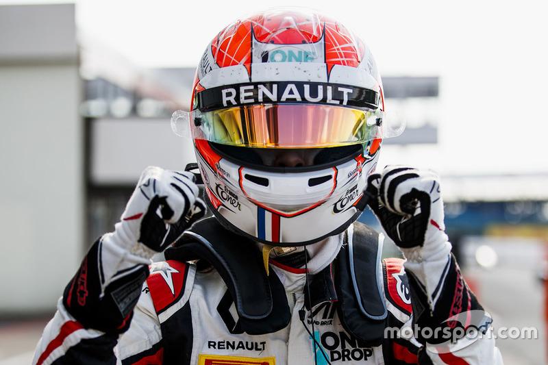 Anthoine Hubert a signé sa première pole position en GP3