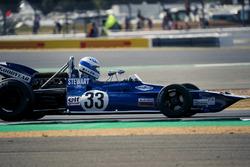 Tyrrell 005 en el desfile del 70 aniversario de Silverstone