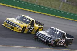 Cody Coughlin, GMS Racing, Chevrolet Silverado Jeg's.com Josh Reaume, Reaume Brothers Racing, Chevrolet Silverado R-Coin