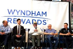 Steve Newmark, Eliot Hamlisch, Jack Roush, Mark Martin, Matt Kenseth