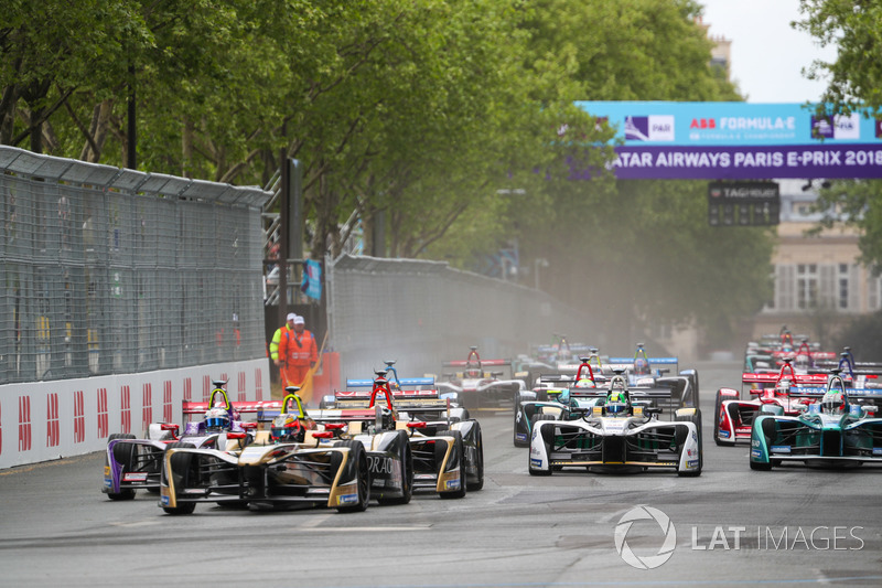 Jean-Eric Vergne, Techeetah,Sam Bird, DS Virgin Racing, Andre Lotterer,