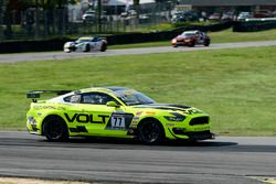 #77 Volt Racing Ford Mustang GT4: Alan Brynjolfsson, Trent Hindman